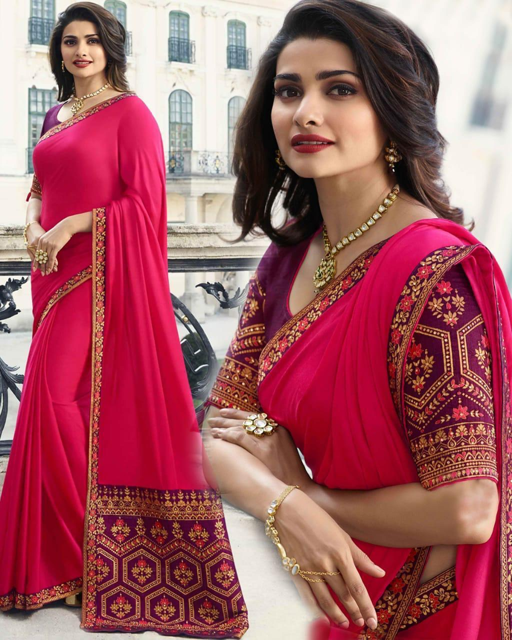 Party Wear Sana Silk Saree