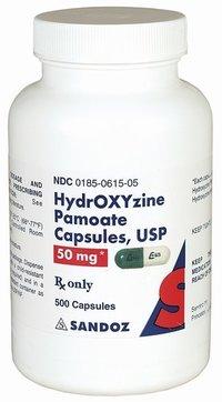 Hydroxyzine Pamoate Capsules