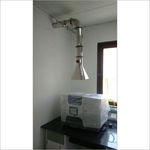 Exhaust Hood With Ducting