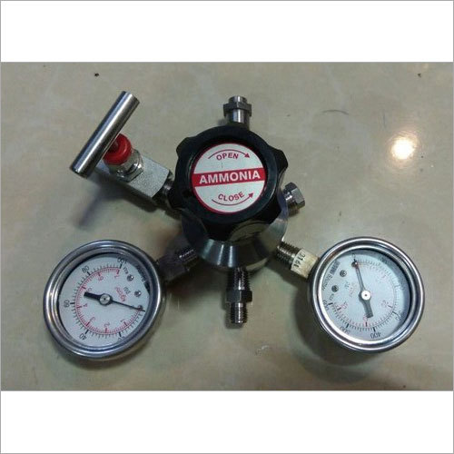 Cylinder Regulator For Ammonia