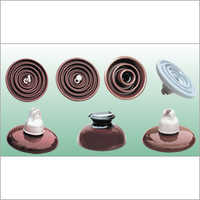 Disc Suspension Porcelain Insulator
