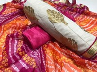 New Chanderi Cotton Dress Material