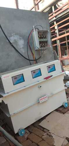 60 KVA Three Phase Oil Cool Servo Stabilizer