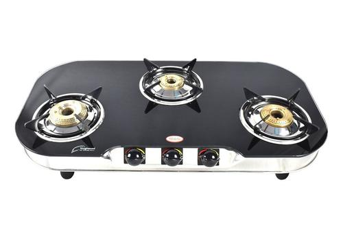 THREE BURNER LP GAS STOVE