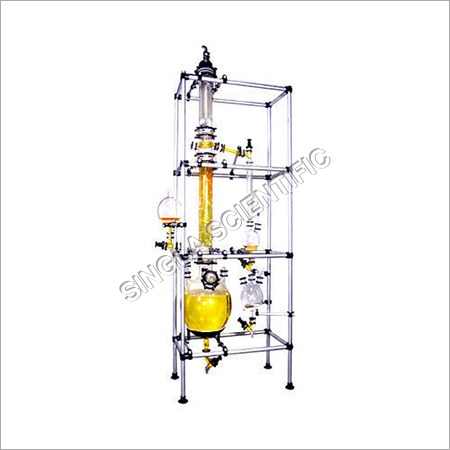 Glass Fractional Distillation Unit