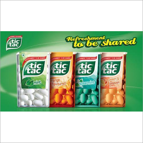 Tic Tac Flavored Mouth Freshener
