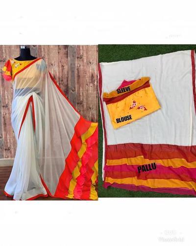 New Design In Chanderi Cotton