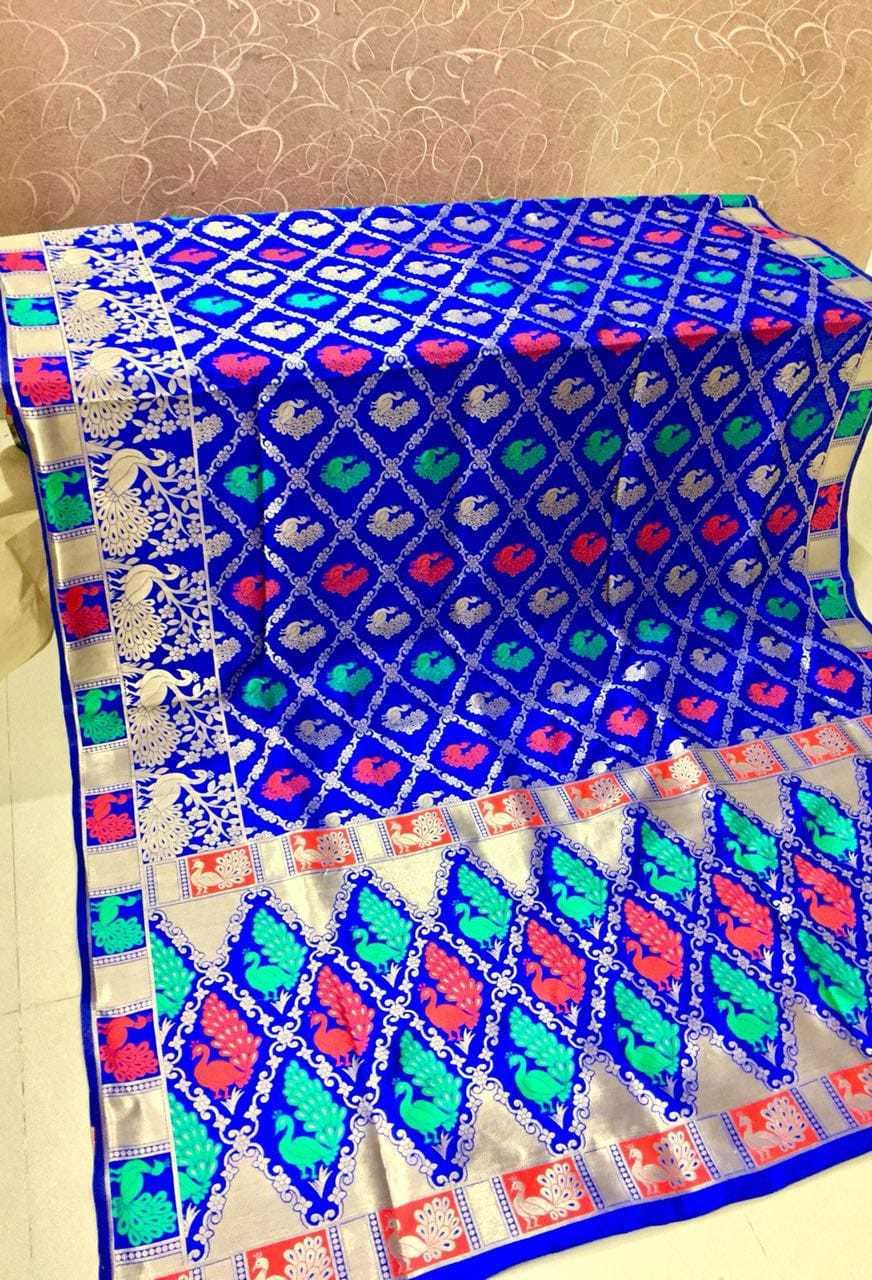Banarasi Silk Printed Saree