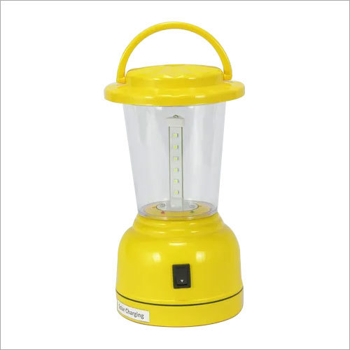 Magic Yellow Solar Lantern