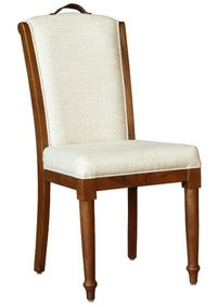 Leather Strick Dining Chair