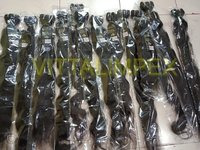 Natural Machine Weft Remy Hairs