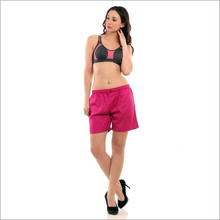 Ladies Pink Boxer Shorts