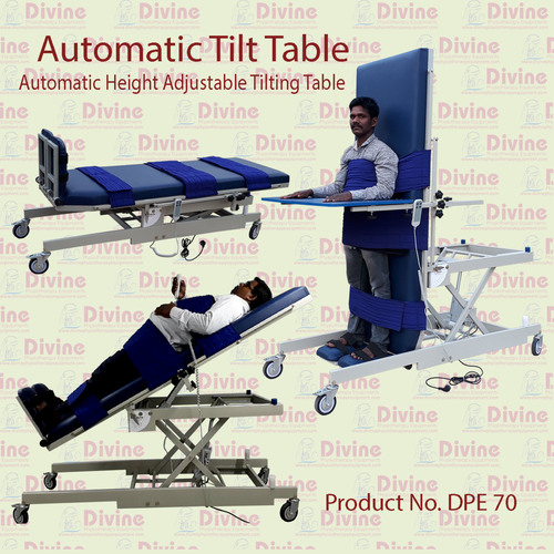 Automatic Height Adjustable Tilting Table