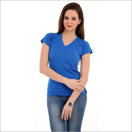 Ladies Blue Ladies T-Shirt
