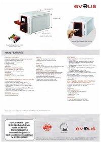 Evolis Zenius Card Printer(The compact and agile card printer)