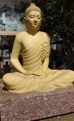 Buddha Fiber Statue for Temple