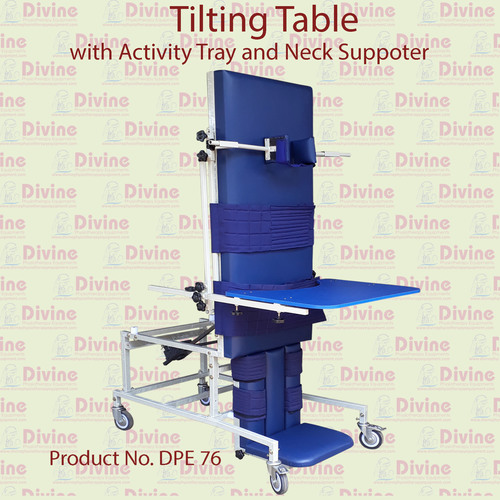 Tilting Table with Activity Tray