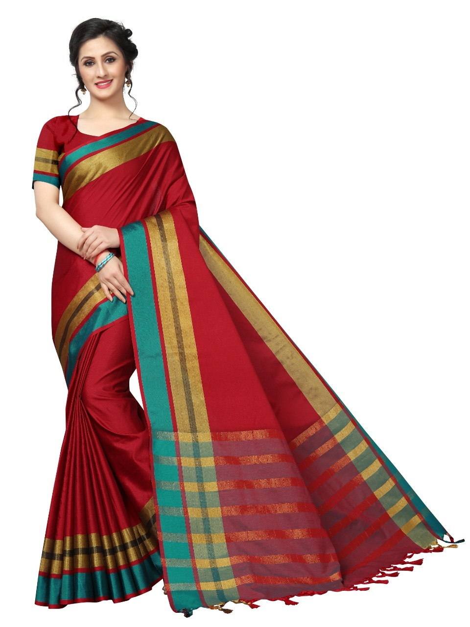 Jankar Cotton Saree
