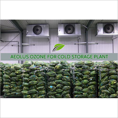 Cold Storage Ozone and UV Disinfection system by Aeolus