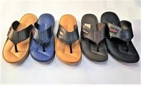 Leather Look Designer Slipper - Raja
