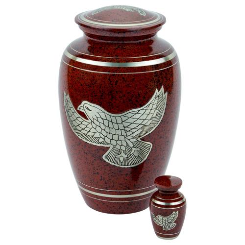 Eagle Aluminum Urn By Brassworld India
