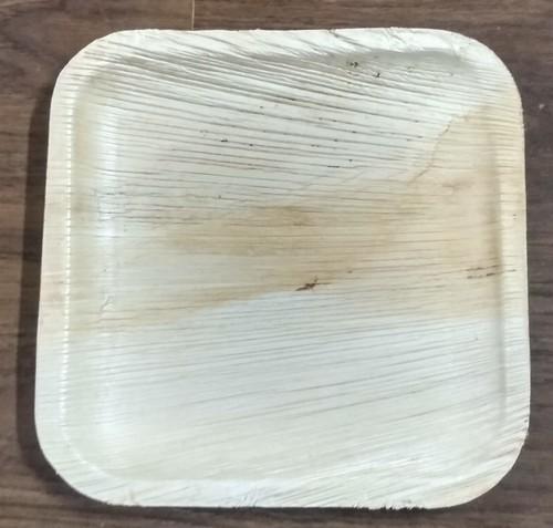 7/7 square areca plate
