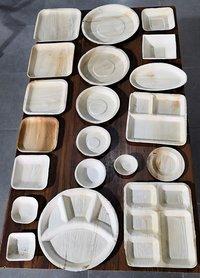 8/8 square plate areca