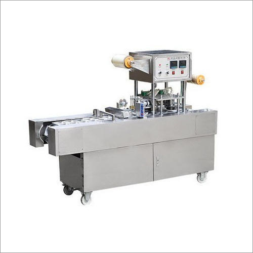 Semi Automatic Cup Filling And Sealing Machine