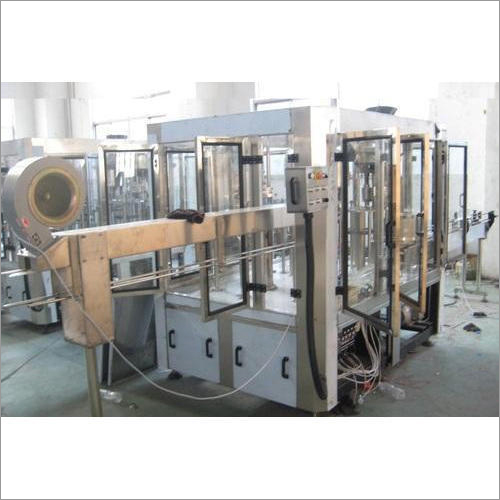 Automatic Mineral Water Monoblock Bottling Machine