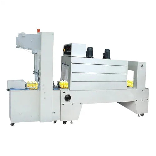 Automatic Sleeve Wrapper With Shrink Tunnel Machine