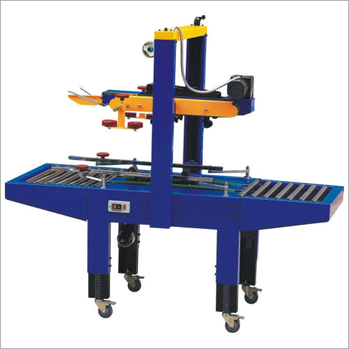 Semi Auto Box Carton Taping Machine