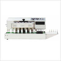 Table Top Continuous Aluminum Foil Induction Sealing Machine