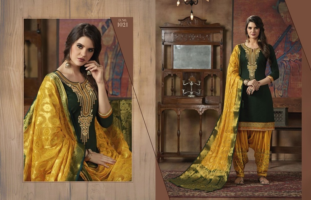 Fancy Designer Punjabi Suits