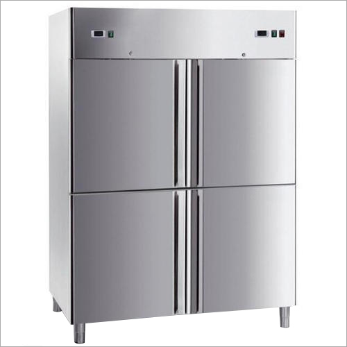 Stainless Steel Four Door Refrigerator