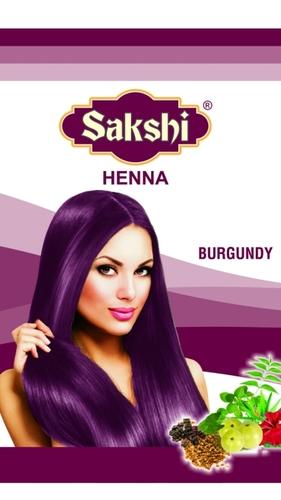 Burgundy Henna