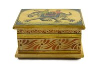 Indian Handmade Camel Bone Box Miniature Painting Decorative Handicraft