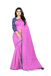 Doriya cotton saree