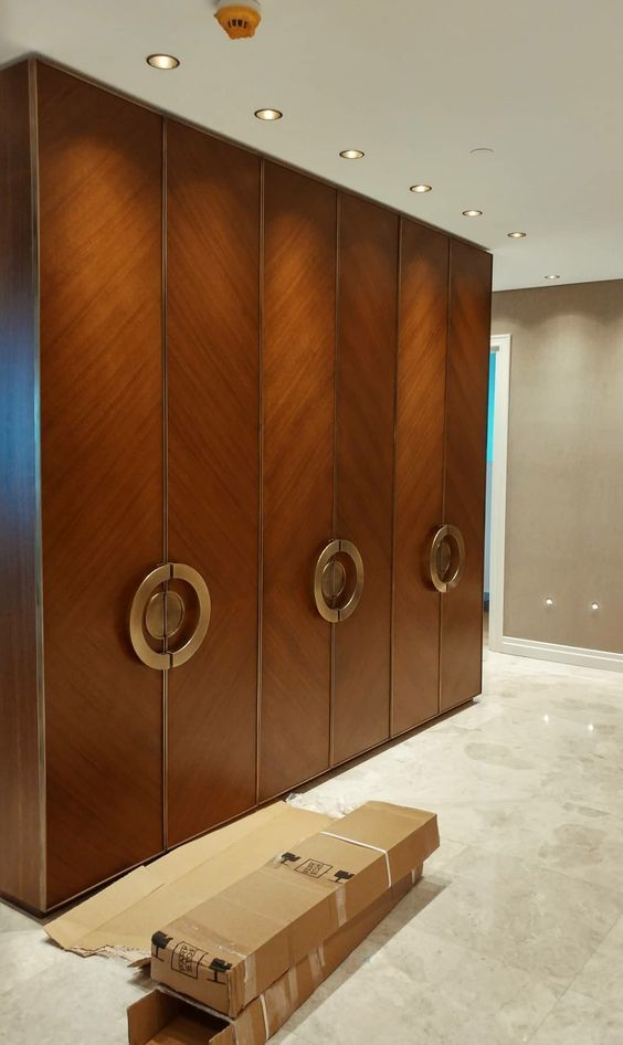 Solid wood Modular Wardrobe