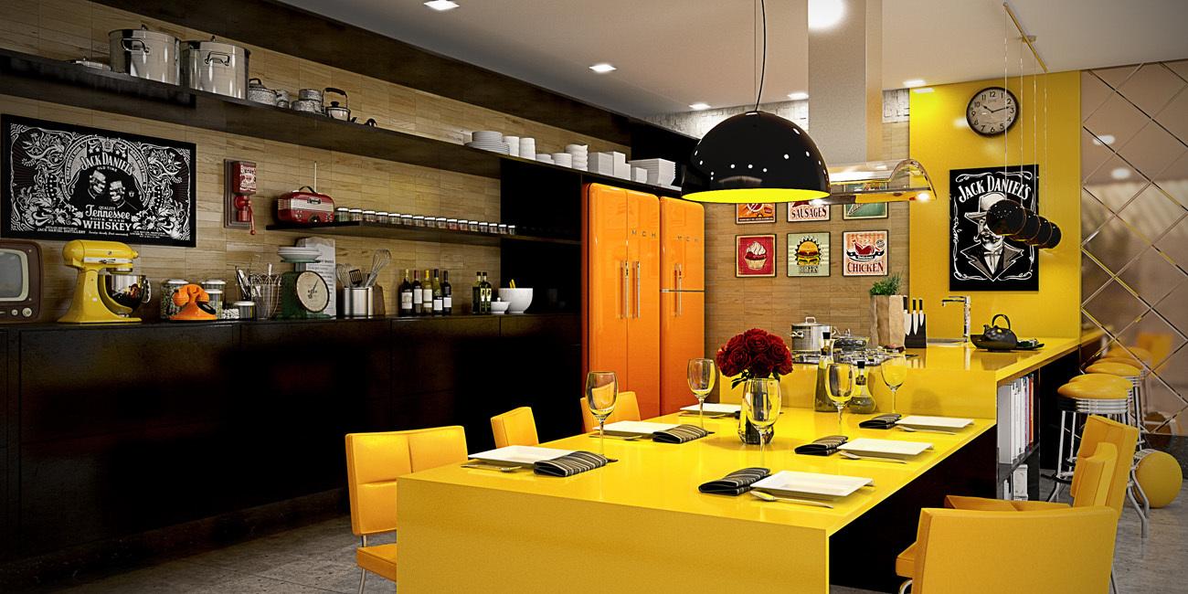 German Acrylic HIGH-Gloss Modular Kitchen