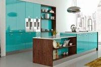 German Acrylic HIGH-Gloss Modular Kitchen