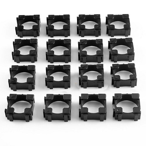 18650 Battery Cell Holder Safety Spacer Radiating Shell Storage Bracket Body Material: Plastic