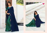 Partywear Designer Printed Saree
