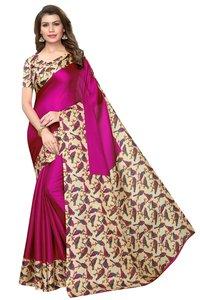 New Design In Cotton Blend Silk Sarees