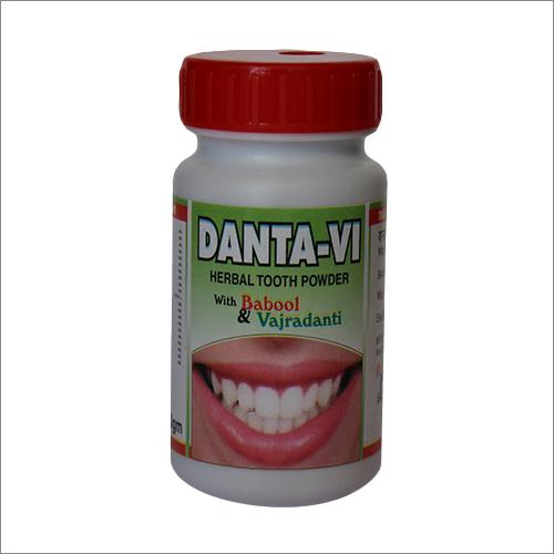 Danta-VI Herbal Tooth Powder