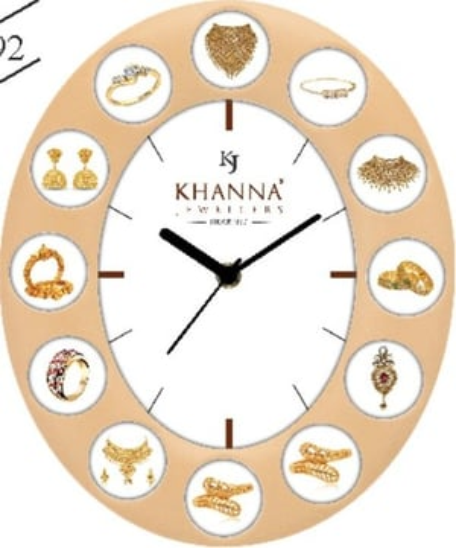 KHANNA JEWELLERS WALL CLOCK