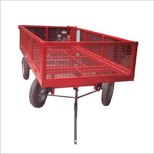 4 Wheel Garden Trolley