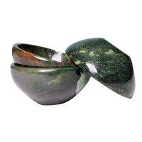 Satyamani Natural Bloodstone Healing Bowl