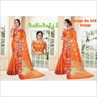 Bahubali 2 Poly Silk Saree