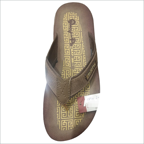 Mens Brown Slipper