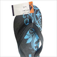 Ladies Rubber Flip Flop Slipper